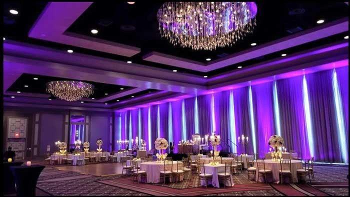 Tmx Purple Uplighting Reception Chandelier Ceiling 51 554622 1561560158 Miami, FL wedding eventproduction