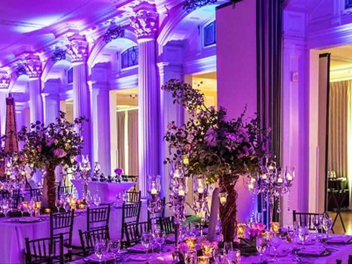 Tmx Uplighting For Reception 51 554622 1561560128 Miami, FL wedding eventproduction