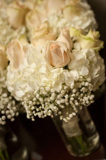 Closeup of bouquet