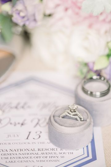 Ring and stationery pairing