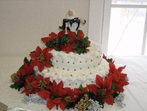 Tmx 1199933042689 WeddingcakeTerriesChristmaswedding Pelham wedding cake