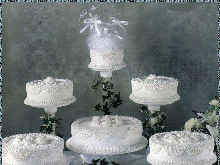Tmx 1200761269347 Weddingcake6cakeslacyLove Pelham wedding cake