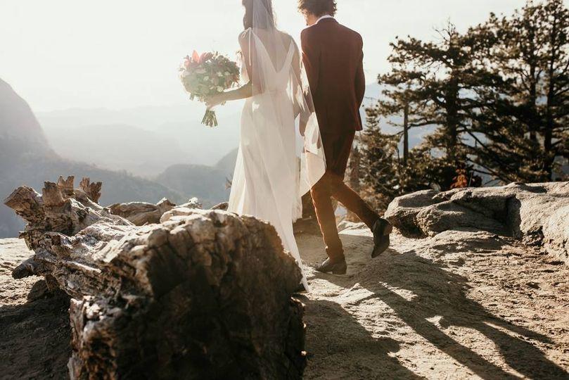 Sequoia Elopement