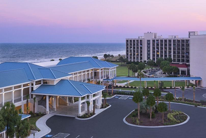 Oulook of Doubletree Resort by Hilton Myrtle Beach Oceanfront
