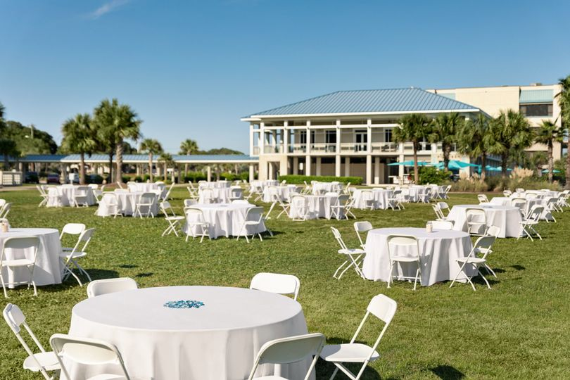 Ocean Front Lawn Event