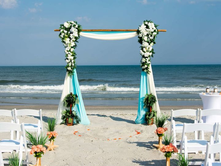 Tmx 1524773086 045dcbfe2098e5b8 1524773085 24a6db15fb33417c 1524773085283 11 Beach Ceremony Myrtle Beach, SC wedding venue