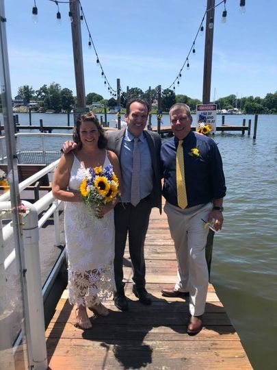 Married on the water