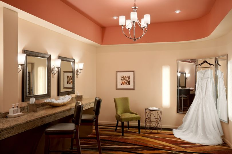 Bridal Lounge,used for bridal party to prepare for the grand entrance. Bridal lounge is located...