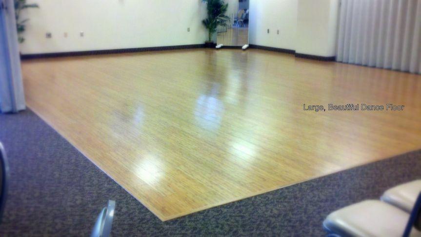 Beautiful, Large Dance floor