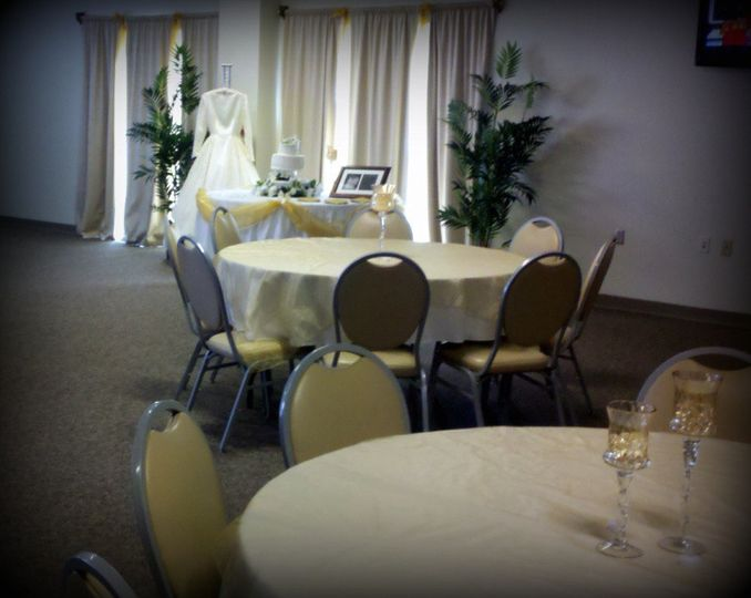 50th Anniversary Open House - Tables and Chairs always provided.