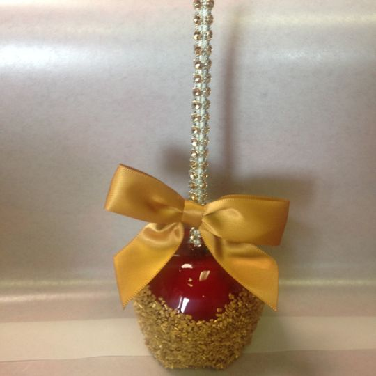 Metro candy apple favors gifts wallington nj for Candy apple wedding favors