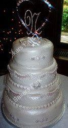 Tmx 1368488161434 1694854 Randallstown wedding cake