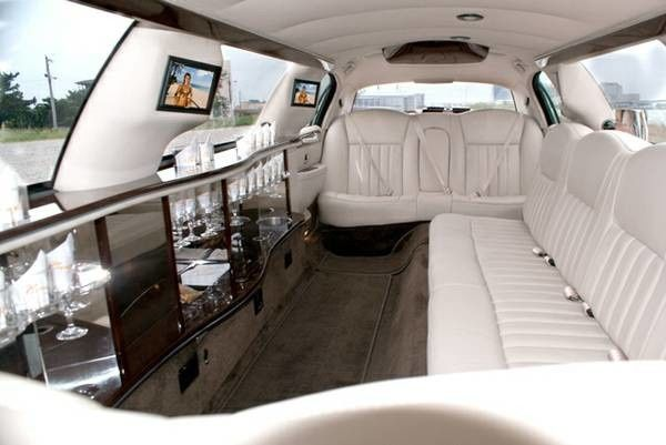 Tmx 1497388841151 Gold Limo Interior Saratoga Springs wedding transportation