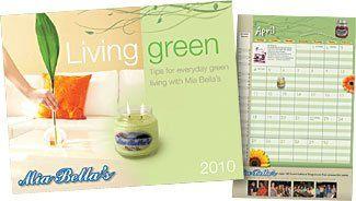Living Green Wall calendar
