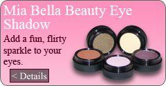 All natural mineral eye shadow, available in different colors