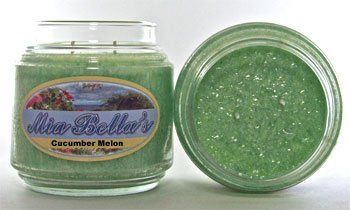 16 oz Jar candle. 2.5 oz votives and 26 oz Grande jars are also available