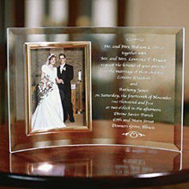 Tmx 1223088270252 Engravedinviteframe Beachwood wedding favor