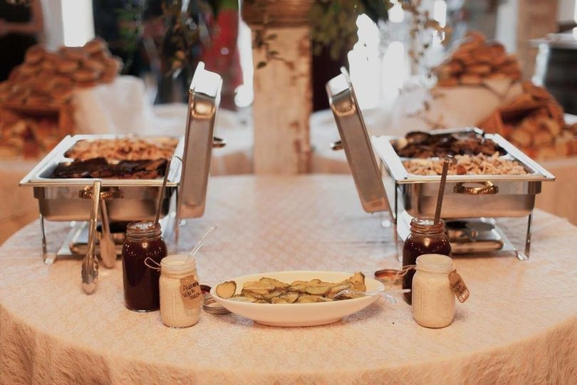 Catering setup