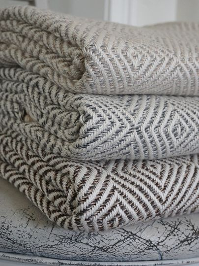 Patterned towels
