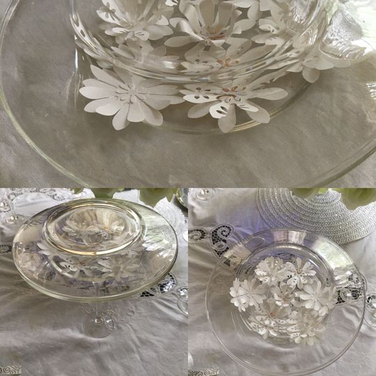 Crafting Flower Accent Decor