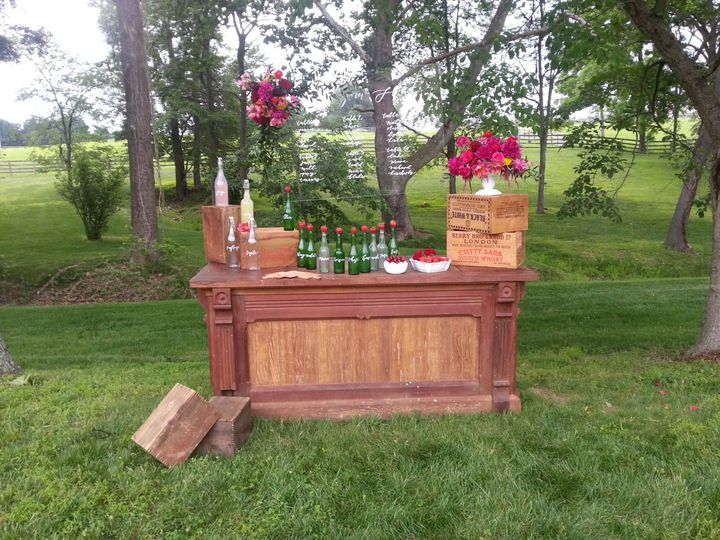 Tmx 1442599633375 Wg Bar   Styled Forest Hill, Maryland wedding rental