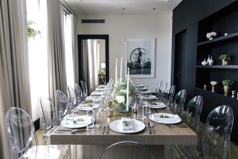 Penthouse Dinner