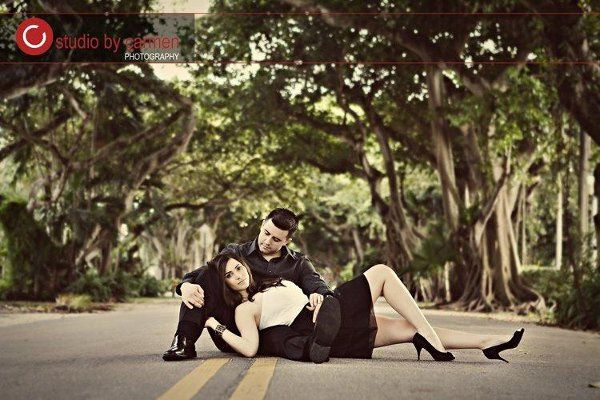 Engagement session in Coral Gables
