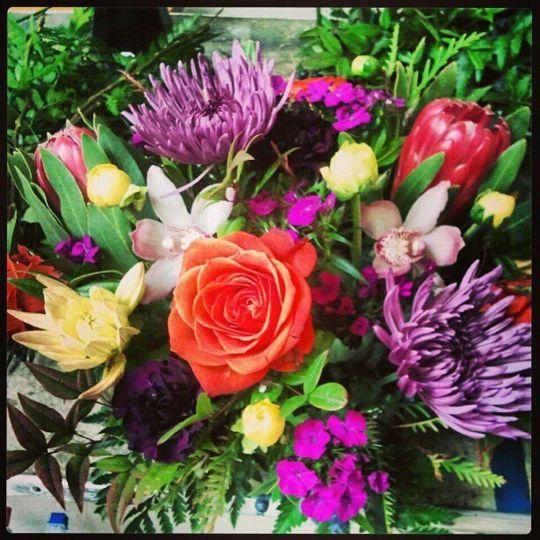 bright bouquet