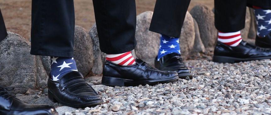 Grooms mens socks (video still)