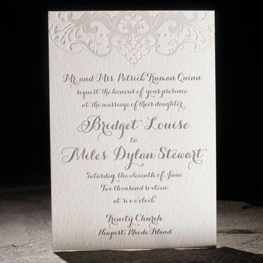 Classic invitation