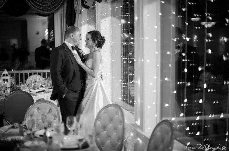 Couple Portrait in Ballroom