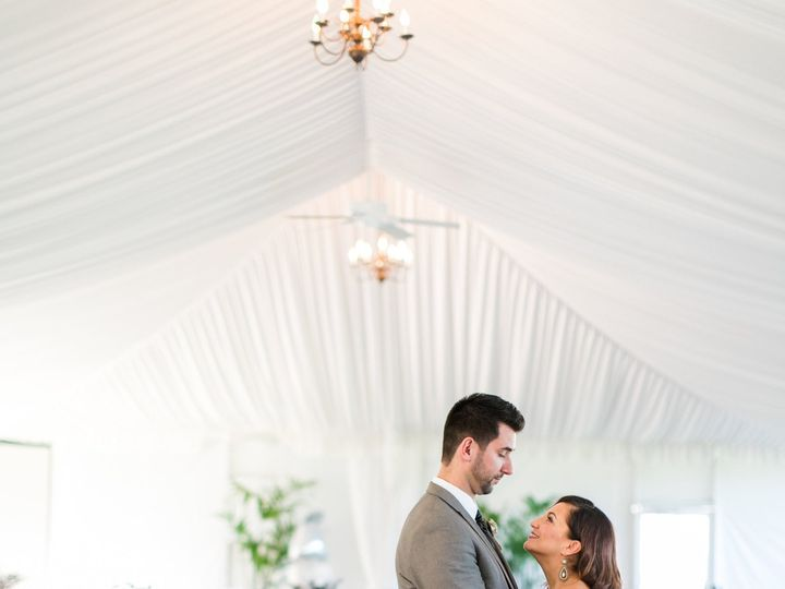 Tmx 1423174096157 Bride And Groom In Tent Basking Ridge, NJ wedding venue