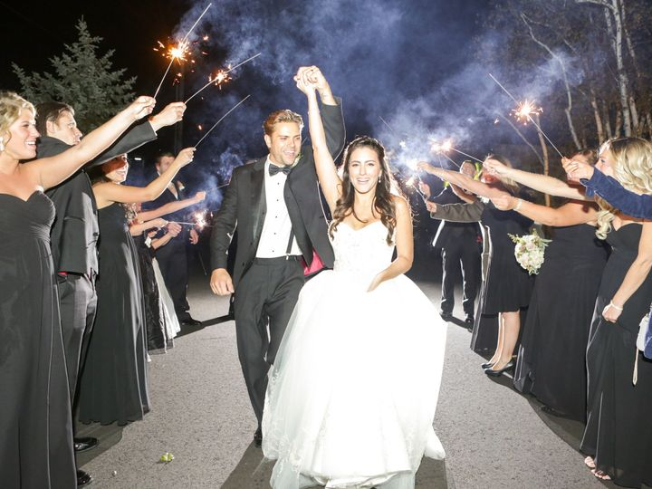 Tmx 1478724646715 Bride With Sparklers Basking Ridge, NJ wedding venue