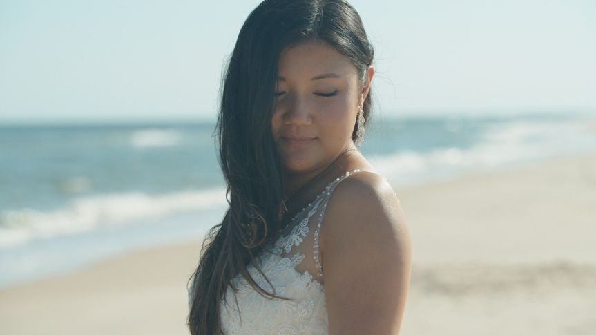 St George Island bride