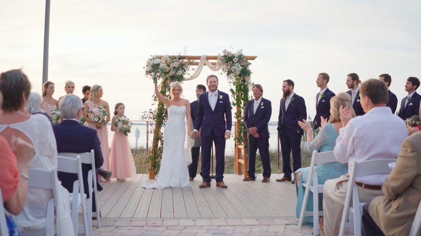 Portofino Pensacola Beach wedding