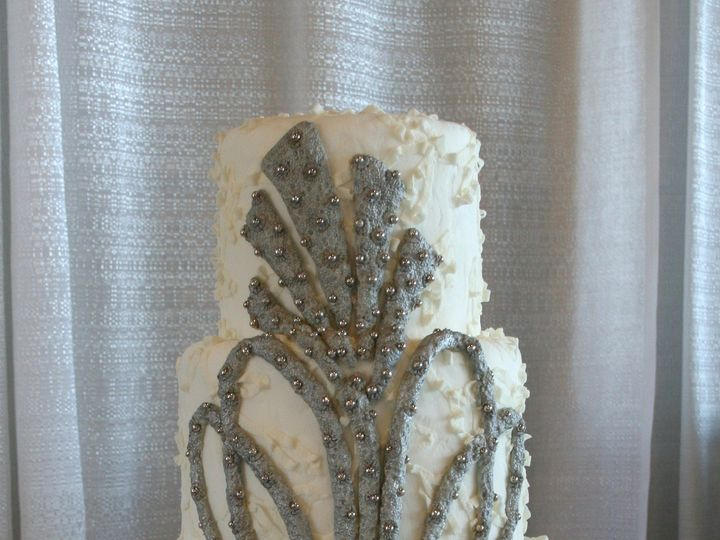 Tmx 1383750465064 09 Winston Salem, North Carolina wedding cake