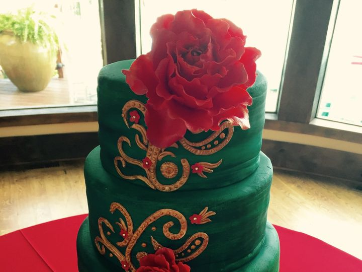 Tmx 1437925718933 551 Winston Salem, North Carolina wedding cake