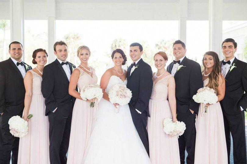 Pastel Bridal Party