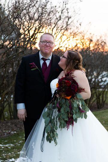 Rustic, Barn Wedding
