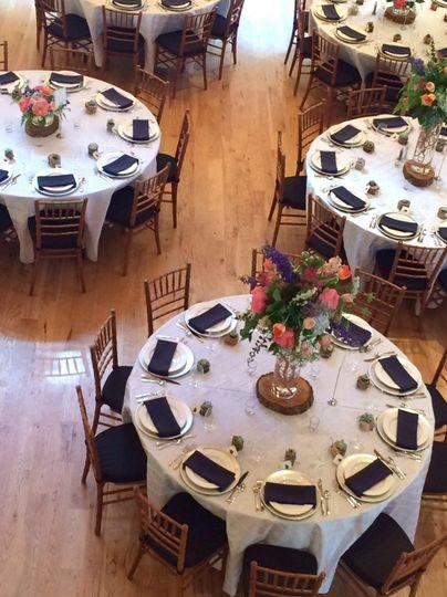 Gorgeous tables