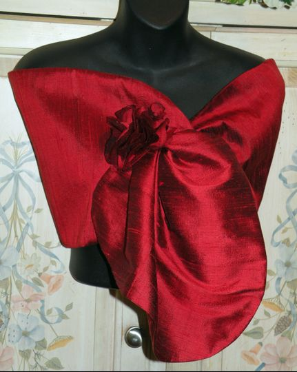 Hands Free Pull Thru Silk Dupioni. Removable Rosette,,,,More colors available...