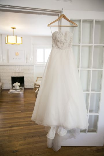 bustle wedding dresses white door birmgingham
