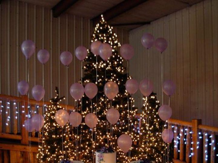 Tmx 1266262319908 DSCN0340PurlpleCakewithBalloons Loveland, Colorado wedding venue