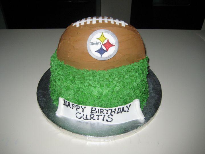 steelers football cak