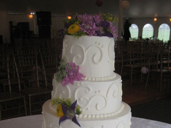 Tmx 1399938943235 20 Swirls 4 Tiered Cak Frederick, MD wedding cake