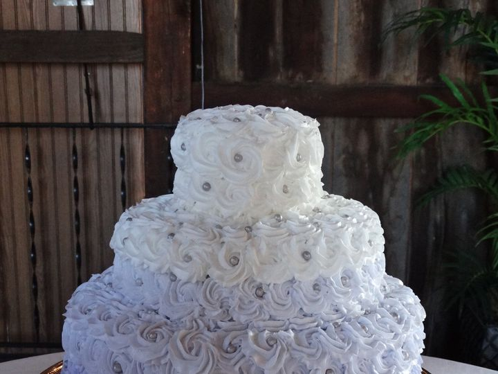 Tmx 1399939115868 Rosettes Wedding Cak Frederick, MD wedding cake