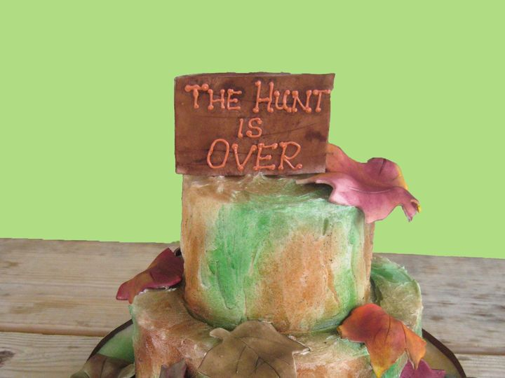 Tmx 1399939761179 2 Hunt Is Over Cak Frederick, MD wedding cake