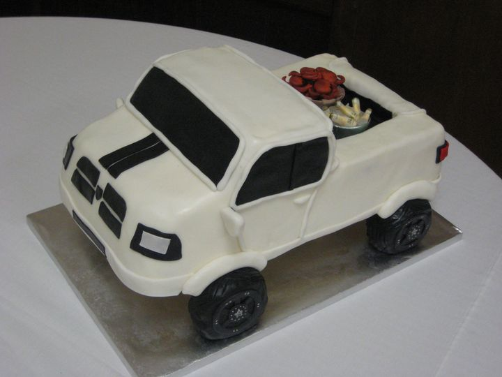 Tmx 1399939813849 20 Pickup Truck Cak Frederick, MD wedding cake