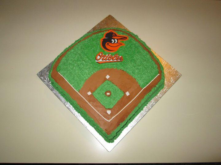 Tmx 1399939836455 4 Orioles Cak Frederick, MD wedding cake