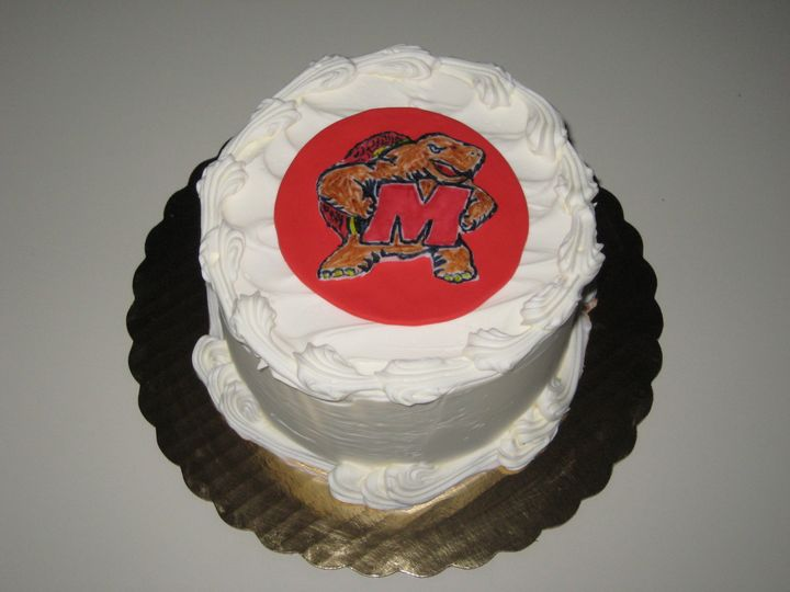 Tmx 1399940095196 15 Maryland Terps Cak Frederick, MD wedding cake
